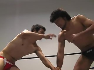 wrestling Japanese wrestling and cum japanese