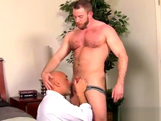 michaels Shay Michaels fucks his annoying boss Brian in his asshole shay